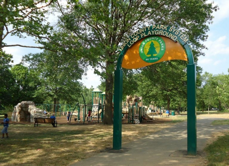 Playground in Watchung park in Union County NJ 768x558