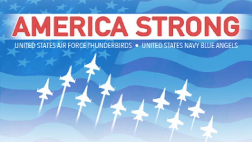 America Strong flyover 4/28/2020